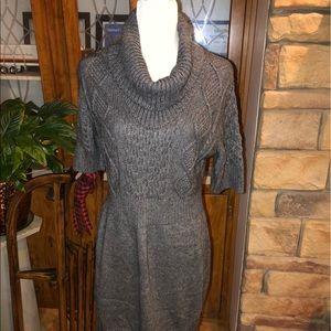 Ann Taylor Loft sweater dress size Large in EUC